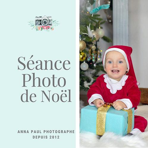 Séance photo de Noël dans le studio décoré à PAU