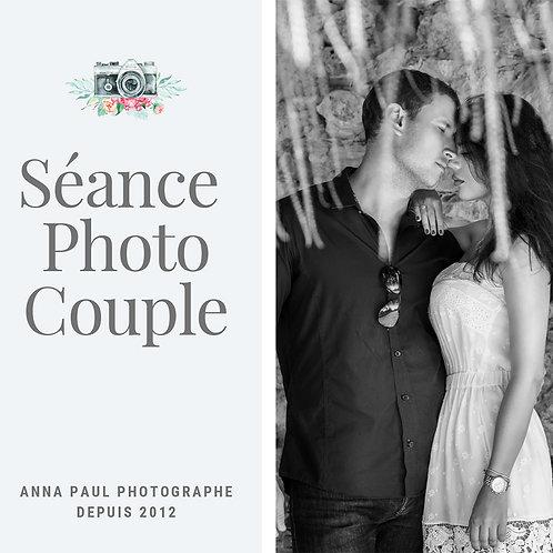 Séance photo Couple 1 heure + 10 photos inclus