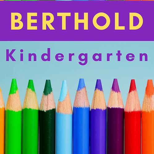 Berthold Kindergarten School Supply Package