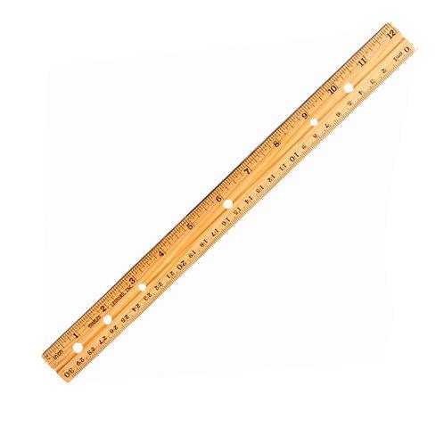 12-Inch Ruler, Wooden