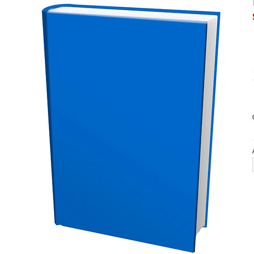 Stretch Book Cover, Large, Random Solid Color