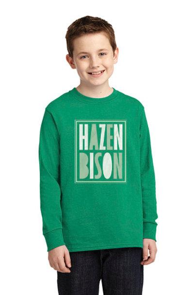Hazen Bison Youth Long Sleeve