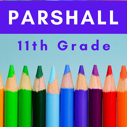 Parshall Eleventh Grade School Supply Package