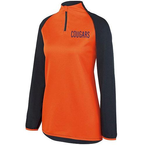 6 - Orange Cougars Pullover, Ladies