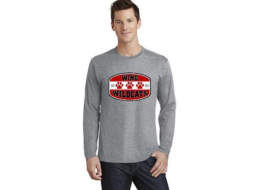 Wing Wildcats Long Sleeve T-Shirt