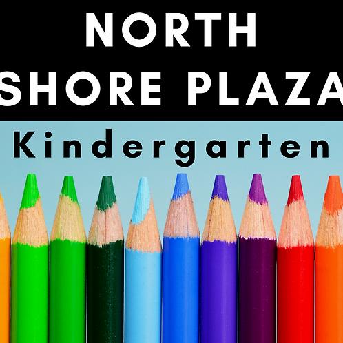 North Shore Plaza Kindergarten School Supply Package