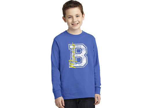 Beulah Miners Long Sleeve Youth T-Shirt