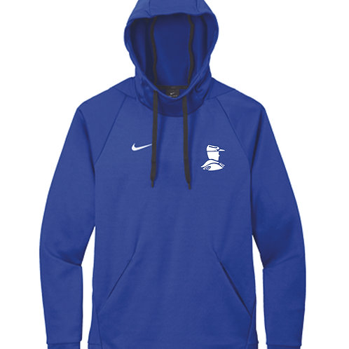 R - Nike Therma-FIT Pullover Fleece Hoodie, Royal