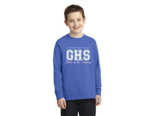 Garrison High School Home of the Troopers Youth Longsleeve