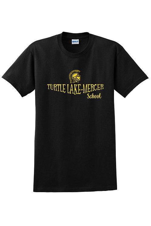 Turtle Lake-Mercer School T-shirt