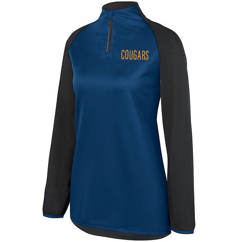4 - Navy Cougars Pullover, Ladies