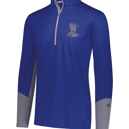 S - Russell Hybrid Pullover, Royal