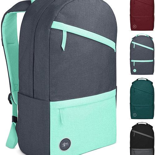 Backpack, Modern Legacy, Gray and seafoam