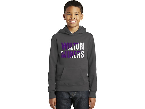Wilton Miners Youth Hoodie