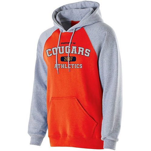 FF - Cougar Banner Hoodie, Orange