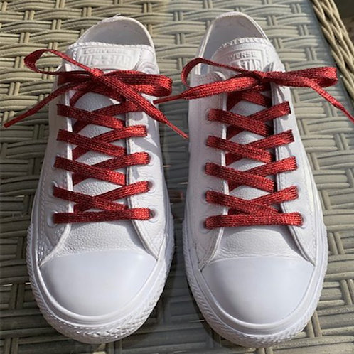 Red Spirit Laces, Glitter