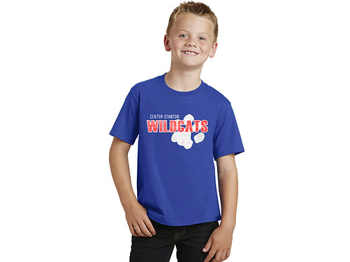 Center-Stanton Wildcats Youth T-shirt