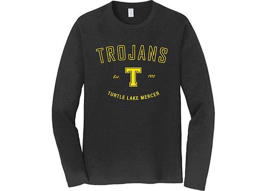 I - Trojans Long Sleeve, Black