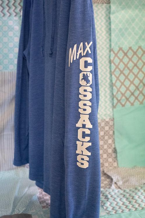 Ladies Sport-Tek Lightweight Hoodie, Max Cossacks