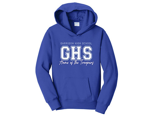 Garrison High School Home of the Troopers Youth Hoodie