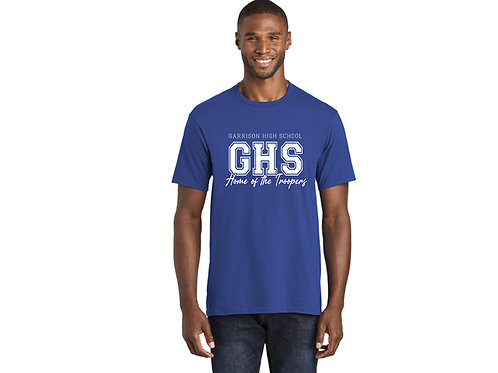 Garrison High School Home of the Troopers Adult T-Shirt
