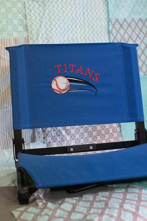 Titans Baseball Stadium Chair