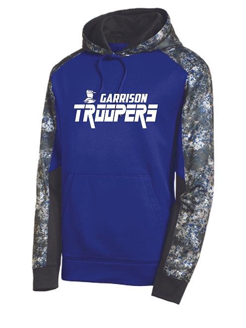 Y - Troopers Sport-Tek Mineral Freeze Pullover, White design