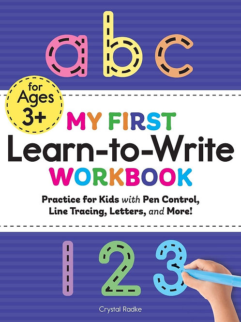 Coloring Book, My first Learn-To-Write workbook