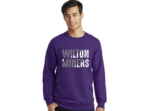 Wilton Miners Crewneck