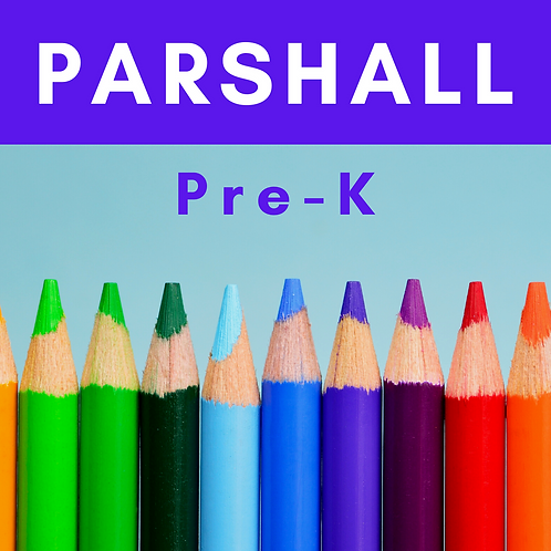Parshall Pre-K School Supply Package