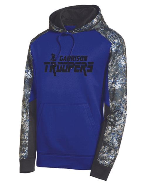 Z - Troopers Sport-Tek Mineral Freeze Pullover, Black design