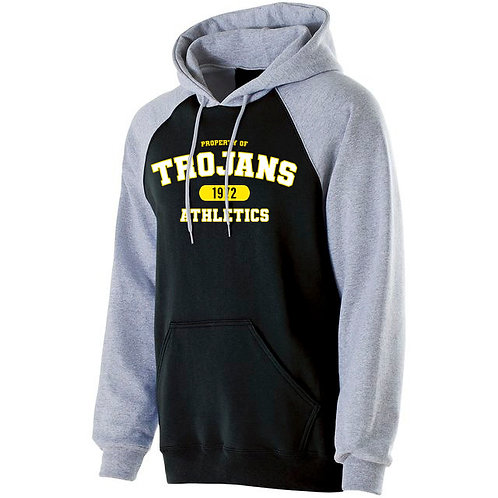 HH - Trojan Banner Hoodie, Black Chest