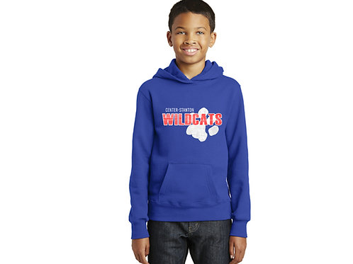 Center-Stanton Wildcats Youth Hoodie