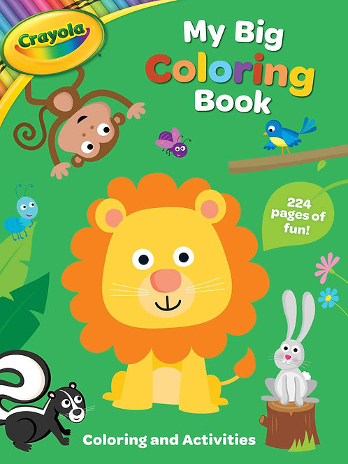 Coloring Book, My Big Coloring Book, 224 Pages