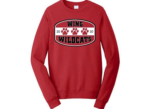 Wing Wildcats Crewneck