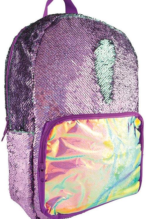 Fashion Angels Magic Sequin Backpack - Purple iridescent