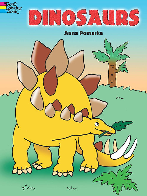 Coloring Book, Dinosaurs