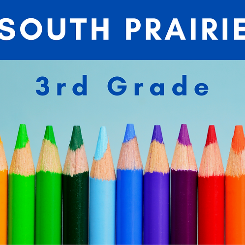 South Prairie Third Grade School Supply Package
