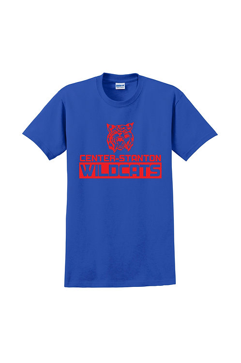 Center-Stanton Wildcats T-shirt