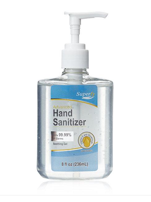 8 oz Top Pump Hand Sanitizer - DONATION