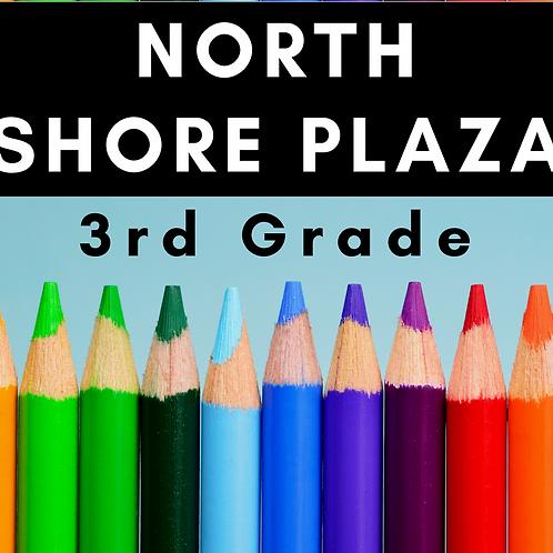North Shore Plaza Third Grade School Supply Package