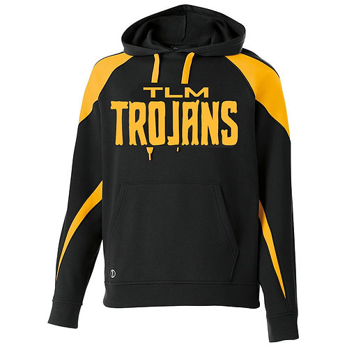 LL - Trojan Prospect Hoodie, Black and Gold