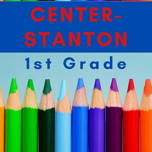 Center-Stanton First Grade School Supply Package