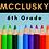 Thumbnail: McClusky Sixth Grade School Supply Package