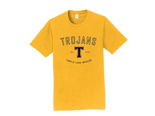 C - Trojans Short Sleeve, Gold