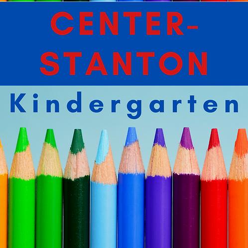 Center-Stanton Kindergarten School Supply Package