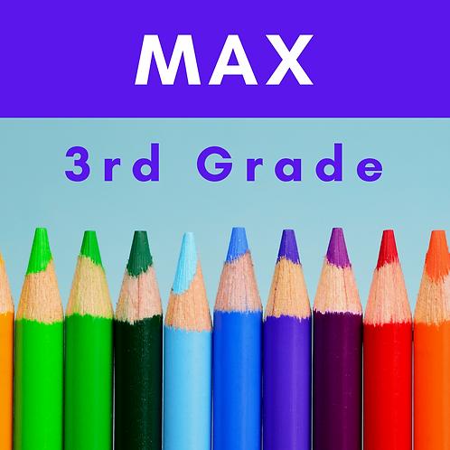 Max Third Grade School Supply Package