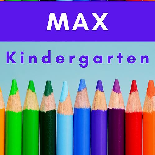 Max Kindergarten School Supply Package