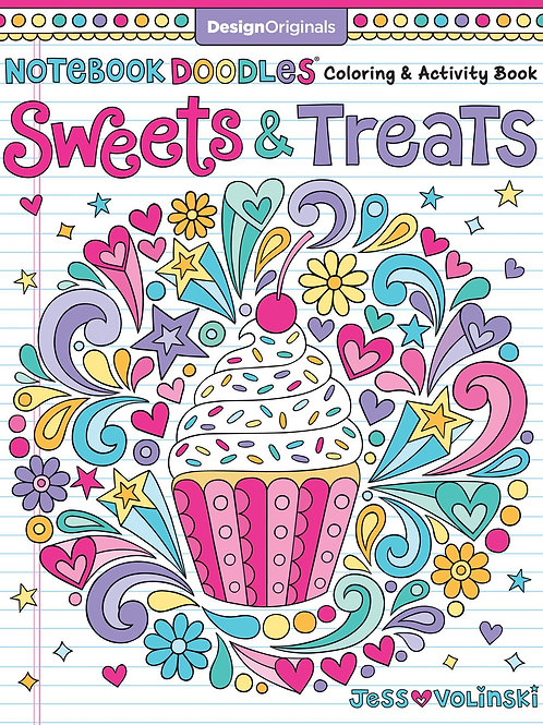 Coloring Book, Sweet Treats