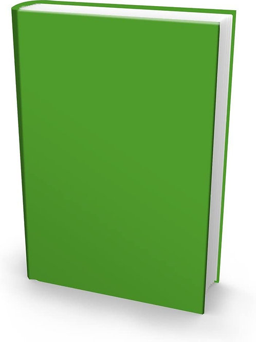 Stretch Book Cover, Jumbo, Random Solid Color